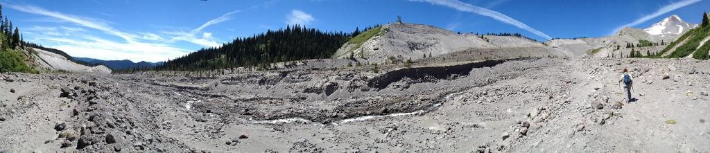 White River panorama