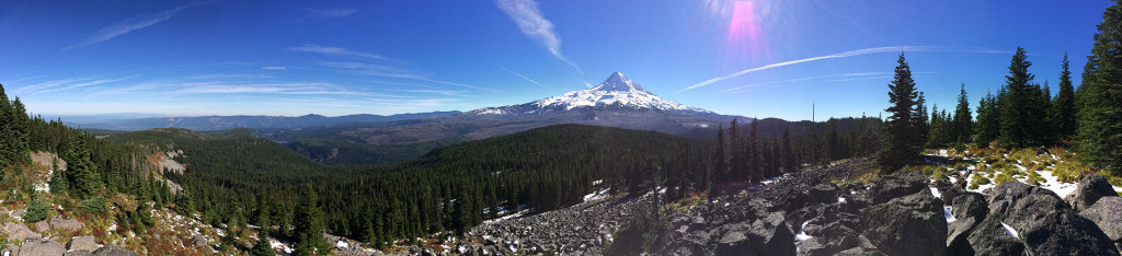 Panoramic view from Owl Point