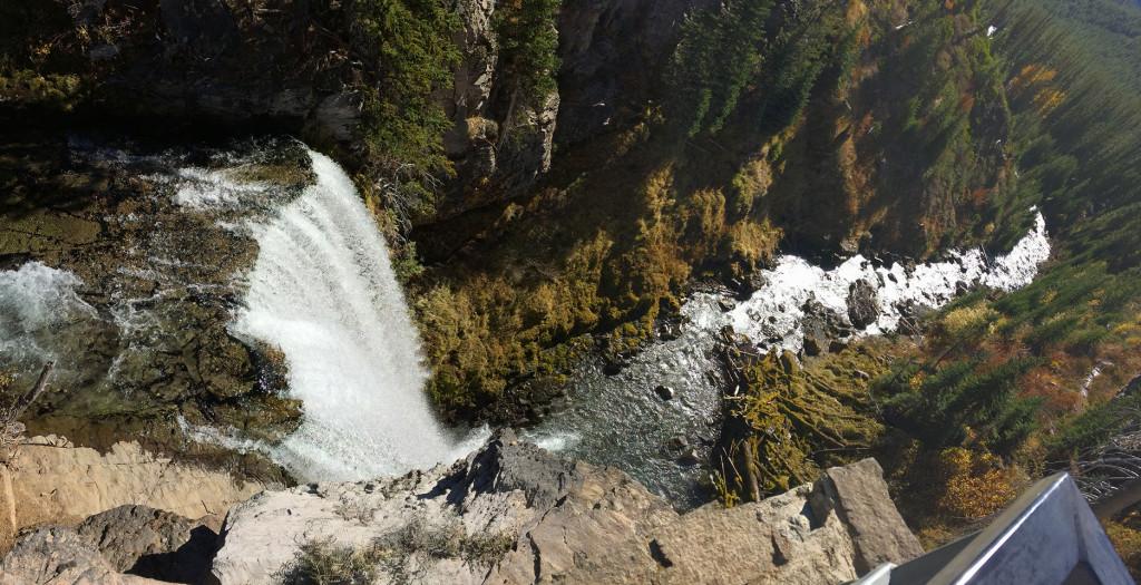 Tumalo Falls panorama