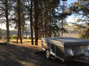 Livin' Lite pop-up tent trailer