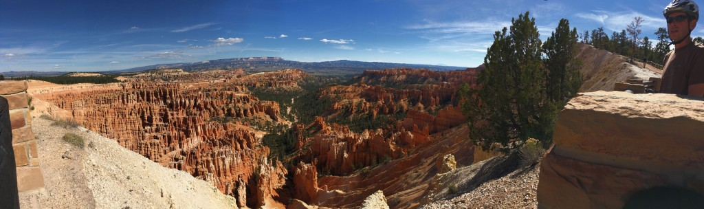 Panorama from Inspiration Point Overlook