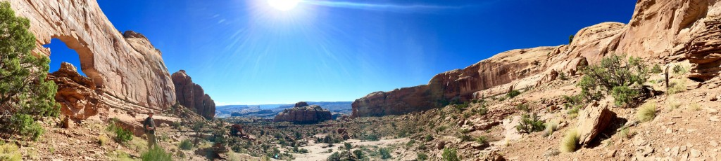 Panorama with Jeep Arch on the left