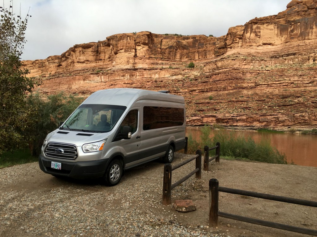 Spot #1 at Granstaff Campground along the Colorado River