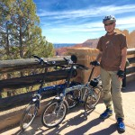 Downtube folding bikes at Bryce Canyon NP