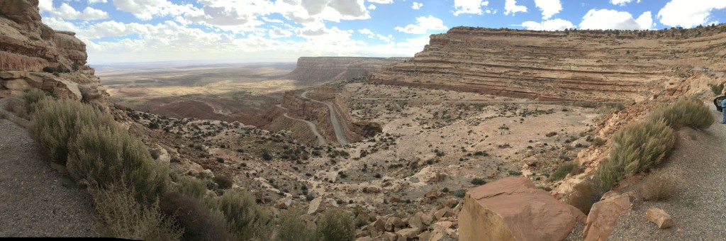 Just a few of the curves involved with the Moki Dugway
