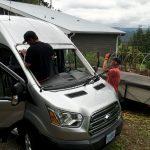 Van windshield replacement